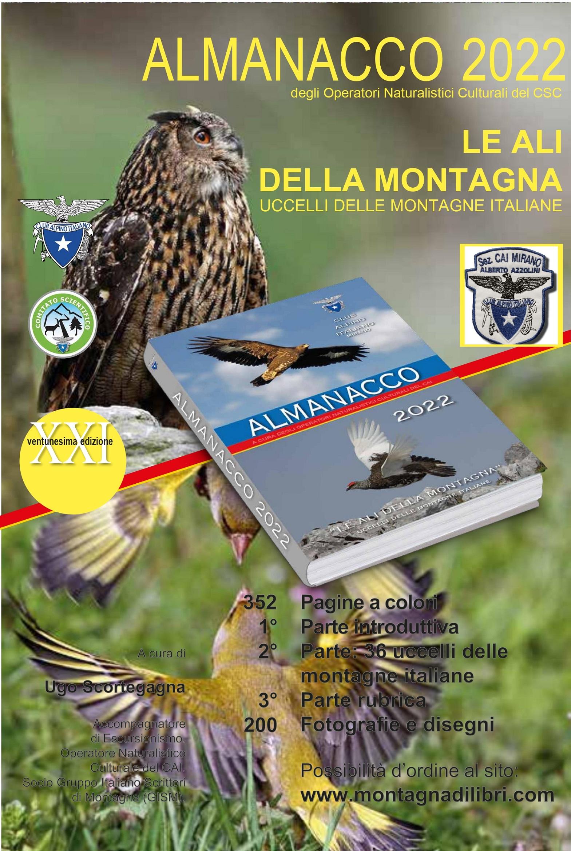 Almanacco – Agenda 2022 a cura degli Operatori Naturalistici Culturali e Sezione CAI di Mirano